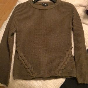 Art Class size 7/8 olive green sweater